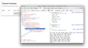 Wordpress Submenu style css
