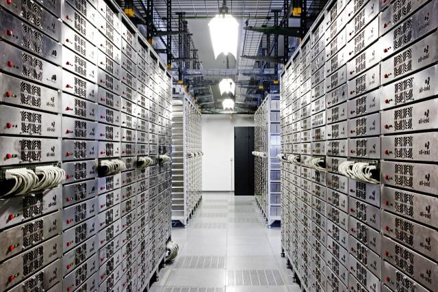 Foto: Webserver im Rechenzentrum bei All-Inkl