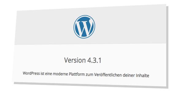 Wordpress Version herausfinden