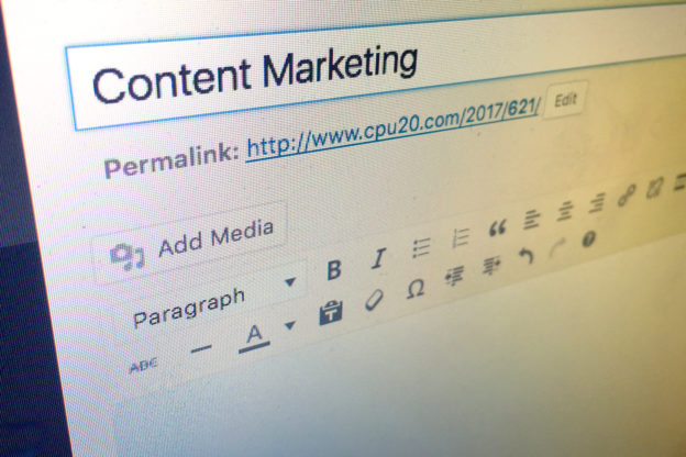Content Marketing Definition selber machen