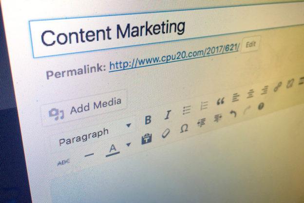 Content Marketing Definition selber machen
