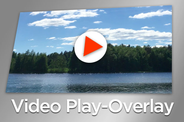 Video Play-Overlay